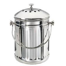 kitchen compost containers stainless steel compost pail kitchen compost bin canada