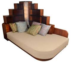 Art deco furniture Old Art Deco Furniture Makes Your House Look Like Metropolis Set Daybed From George Gershwins Ny Apartment Pinterest Art Deco Furniture Makes Your House Look Like Metropolis Set