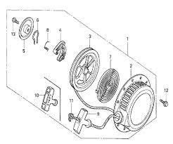 Honda g100k2 type vel4 parts schematic