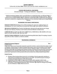 Mechanical Engineer Resume Delectable Junior Mechanical Engineer Resume Template Premium Resume Samples