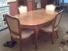 french provincial dining table chairs 300 hutchinson ks french provincial dining table with 6 chairs table is all one solid piece