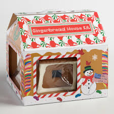 Premade Gingerbread Houses Pre Assembled Gingerbread House World Market