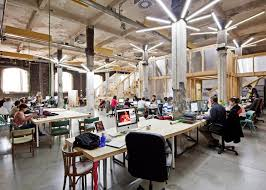 office and warehouse space. 7 Of 15; Factoria Cultural Matadero In Madrid By Office For Strategic Spaces Repurposes A Disused Industrial Building As And Warehouse Space