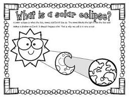 Do you know what a solar eclipse is? Solar Eclipse Coloring Page Solar Eclipse Eclipse Eclipse Book