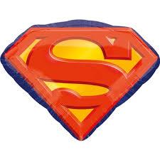 Шар с гелием Супермен эмблема (1207-2764) купить, цена ...