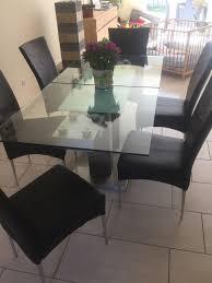 Esstisch Mit 6 Stühlen Modern Und Gepflegt