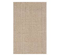 chunky wool jute rug natural