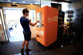 Burrito Vending Machine Franchise Mesmerizing Vending Machines Go Gourmet Technology Telegraphherald