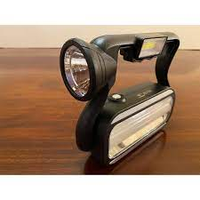 Đèn pin tích điện 4 in 1 ( đèn dự phòng, sạc cho điện thoại), sạc được cả  NLMT - Đèn pin