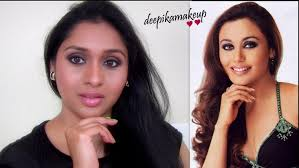 this video is a makeup tutorial inspired by the hot bollywood actress rani mukahrjee this is her signature neutral smokey eye makeup