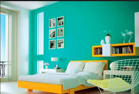 Types of paints Waterproof Fig2enamel Painted Interior Wall Of Bedroom Shutterstock Different Types Of Paints Used In Construction