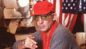 hunter s thompson on finding your purpose watch hunter s thompson set fire to his christmas tree