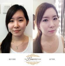 the louvre bridal singapore korea bridal makeup work 04
