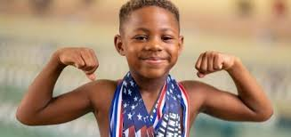 Meet Aaron Tinsley-Bradford: A Six-Year-Old Competitive Swimmer Making His  Mark On The Sport - Black Kids Swim - The #1 Family Resource for  African-American Swimmers
