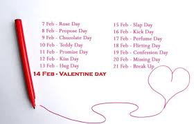 valentine week 2022 7 feb to 21 feb