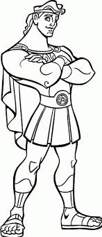 Hercules Coloring Pages To Print