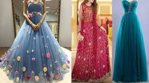 Party Gown Designs 2018 Latest Party Wear Dress Designs For Ladies 2018 2019 17
