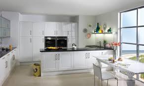 White High Gloss Kitchen Cabinets White Gloss Kitchen Cabinet Doors Monsterlune