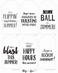 Summer Gift Tags Youre Off To A Happy Summer With Last Day Of School Gifts