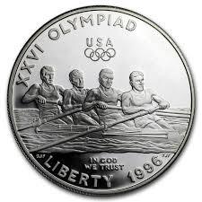 1996 p olympic rowing 1 silver mem