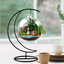 Beauteous Inch Plant Stand Hanging Vase Hydroponic Wedding Decor Metal  Planthers Hanging Diy Home Office Decoration