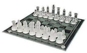old chess sets on ebay. Perfect Chess Glass Chess Sets Throughout Old On Ebay E