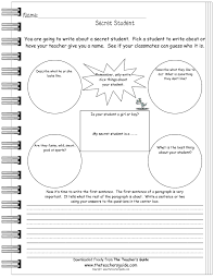 writing prompt worksheets from the teacher s guide secret student writing prompt worksheet