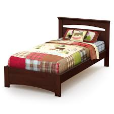 South Shore Bedroom Furniture South Shore Sweet Morning Twin Bed Set 39 Royal Cherry Home