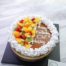 Cái Lò Nướng - Bánh sinh nhật trên nền bánh flan gato. Bạn...