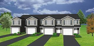 MultiFamily Plan 52425 At FamilyHomePlanscomQuadplex Plans