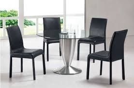 brilliant black dining room chairs set of 4 alliancemv for