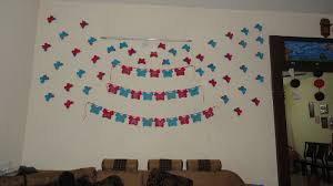 its my girl birthday and she asked me for a erfly theme for her birthday so i come up with this 3d erflies with chart paper
