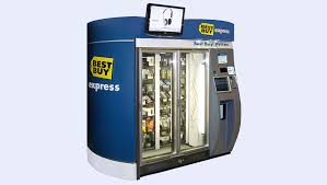 I Want To Purchase A Vending Machine Custom Best Buy Express Vending Machines Turn 48 Best Buy Corporate News