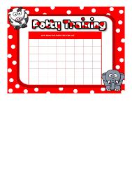Potty Training Sticker Chart Printable Potty Training Sticker Chart Printable Pdf Download