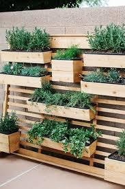 small backyard gardens garden wall planter