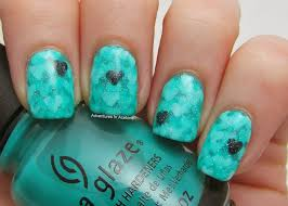 Tutorial Tuesday: Pond Hearts Nail Art! - Adventures In Acetone
