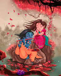 Radha krishna art, Radha krishna wallpaper
