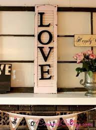 old shutter with wooden letters