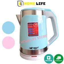 𝐂𝐇𝐎̣𝐍 𝐌𝐀̀𝐔 Ấm Siêu Tốc Thái Lan MISUSHITA MS-1020 2.2L - 1500W Tiện  dụng - Bình đun siêu tốc Nhãn hàng No Brand