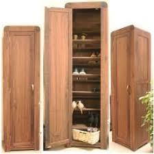 strathmore solid walnut furniture shoe cupboard cabinet. strathmore solid walnut furniture tall shoe cupboard cabinet s