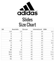 Adidas Polo Size Chart Adidas Adilette Cloudfoam Slides Black