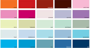 Kitchen Paint Colour Chart Pics Photos Dulux Paint Colour Chart X With Great Set