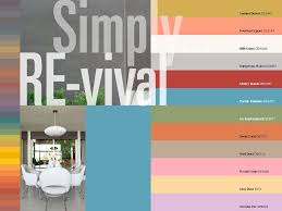 Coral Paint Color Chart The Mid Century Modern Exterior Color Palette Up There Is Used