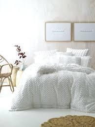 fog quilt cover set linen house white collection temple webster presents duvet cover set queen flannelette