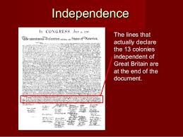 the declaration of independence 20