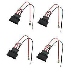 dkmus 2 x pairs speaker wiring harness wire cable vw passat seat dkmus 2 x pairs speaker wiring harness wire cable vw passat seat golf polo speakers adapter