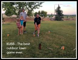 Lawn Game With Wooden Blocks Kubb Game a Perfect Family Reunion Game 56