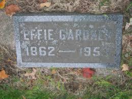 Effie Gardner (1862-1953)   WikiTree FREE Family Tree