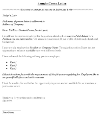 sample employment cover letters sample cover letter image cvtips com