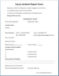 Brief Tutorial On Completing The Forms Text Osha Accident